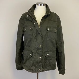 J. Crew The Downtown Field Jacket Mossy Brown XL